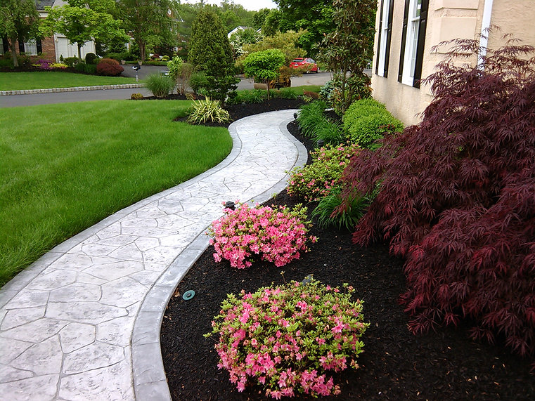 stamped concrete lehigh valley pa
