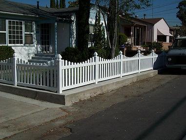 vinyl fence company san diego