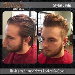mens hair cut services