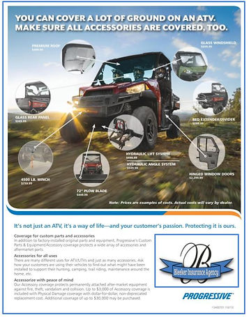 ATV & car insurance company
