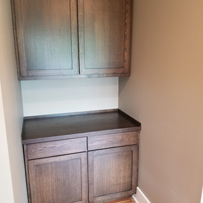 Custom Rustic White Oak Cabinets