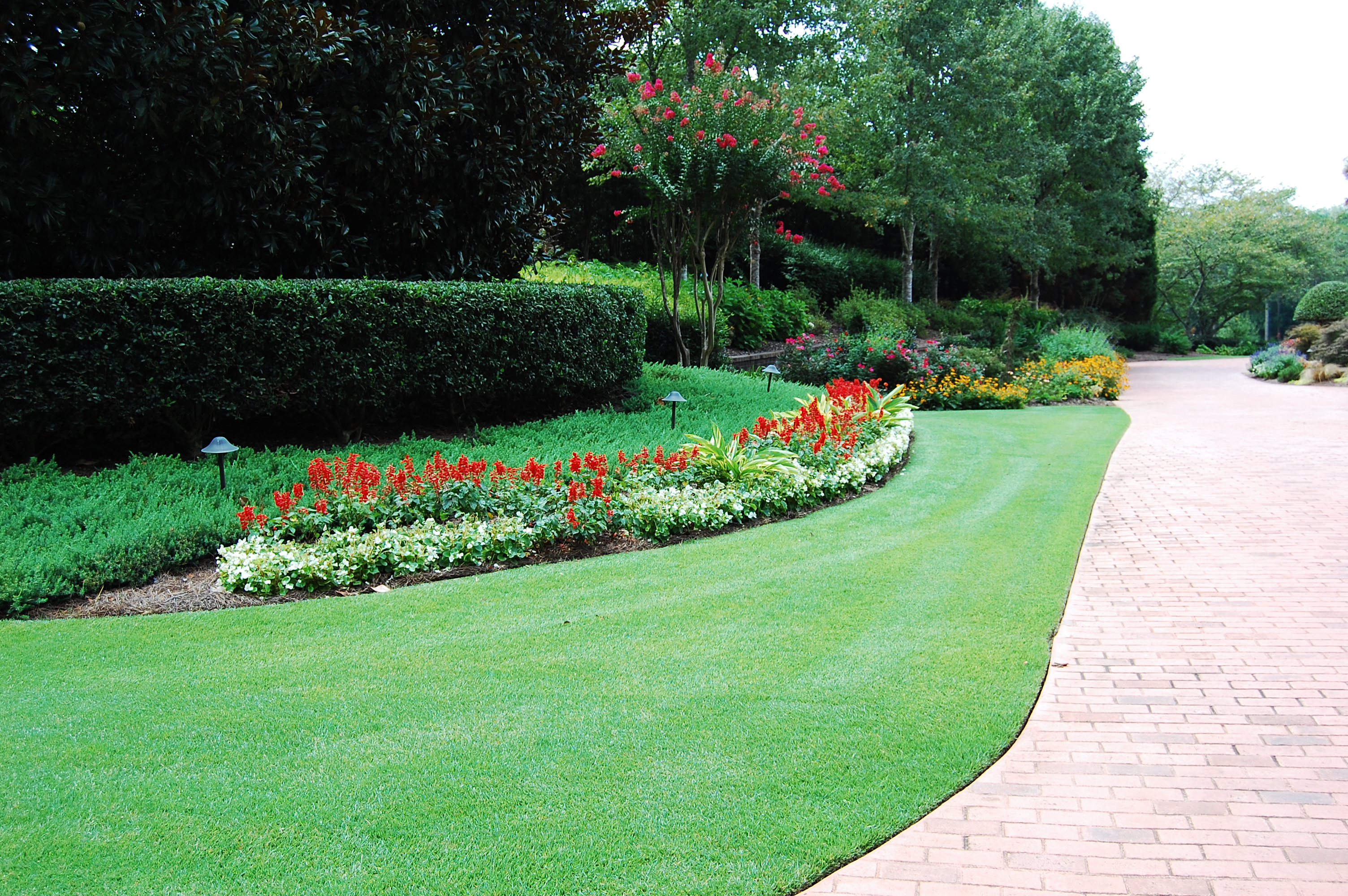 lawn treatments - keep your lawn green atlanta
