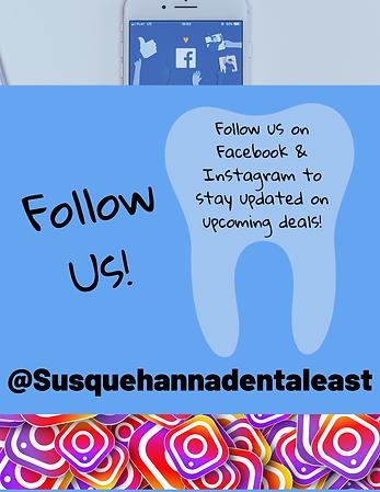 follow susquehanna dental east on Facebook