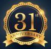 31st anniversary pin