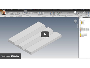 How-To: Miter Folding in Autodesk Woodwork for Inventor