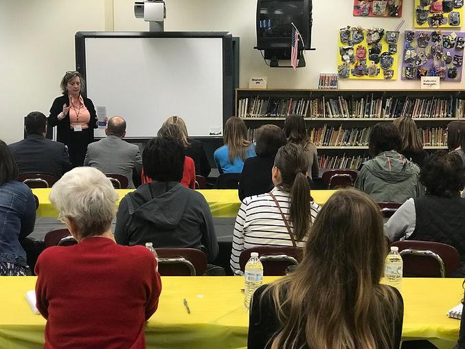 Literacy Coalition educators training