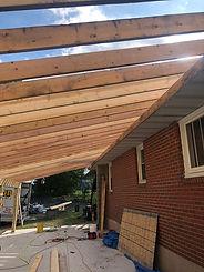 porch roof installation Hazelton pa