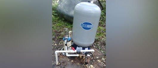 water pump system installation NC