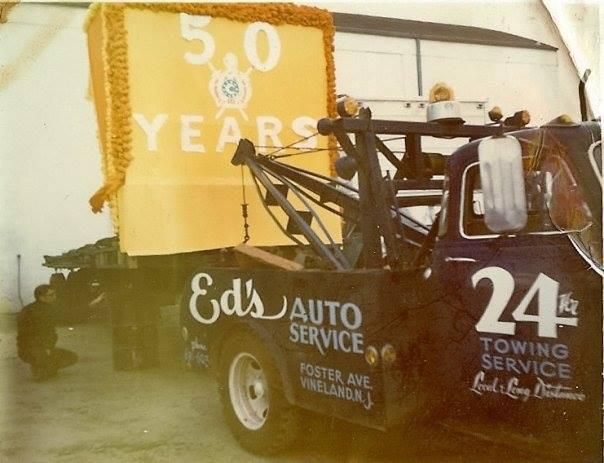 ed's auto service truck
