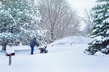 Snow removal in Bethlehem PA