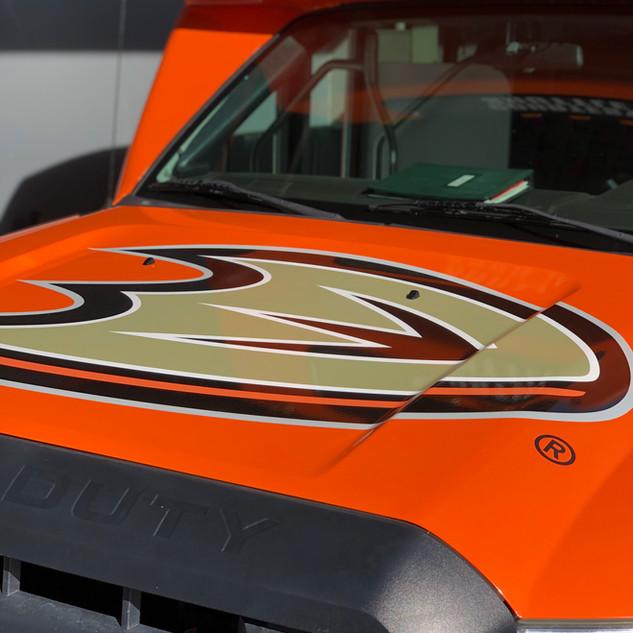 Shuttle Bus Commercial Wrap