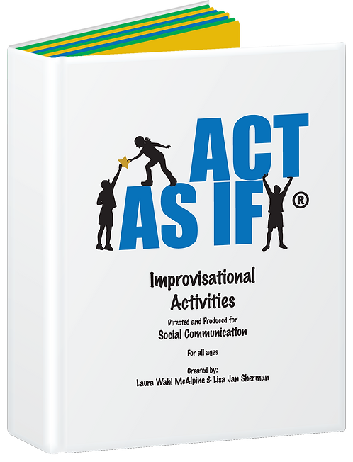ACT AS IF Program Binder + FREE Posters (Limited Time Only)