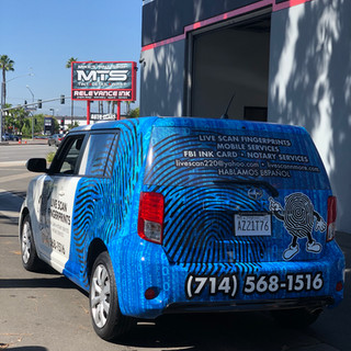 Van Commercial Wrap