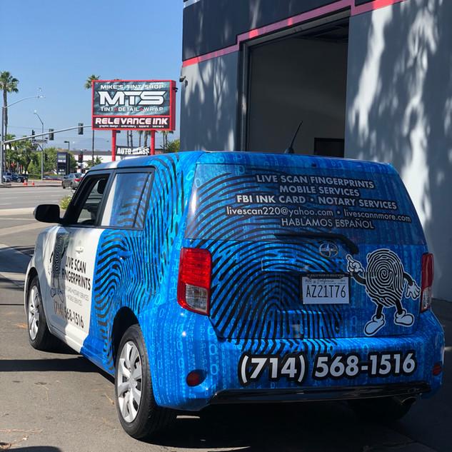 Van Commercial Wrap
