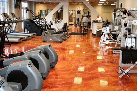 gym floor epoxy services