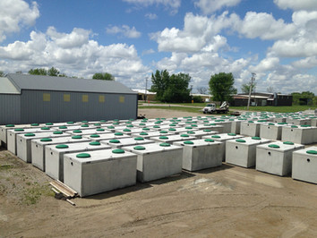 concrete septic tanks iowa