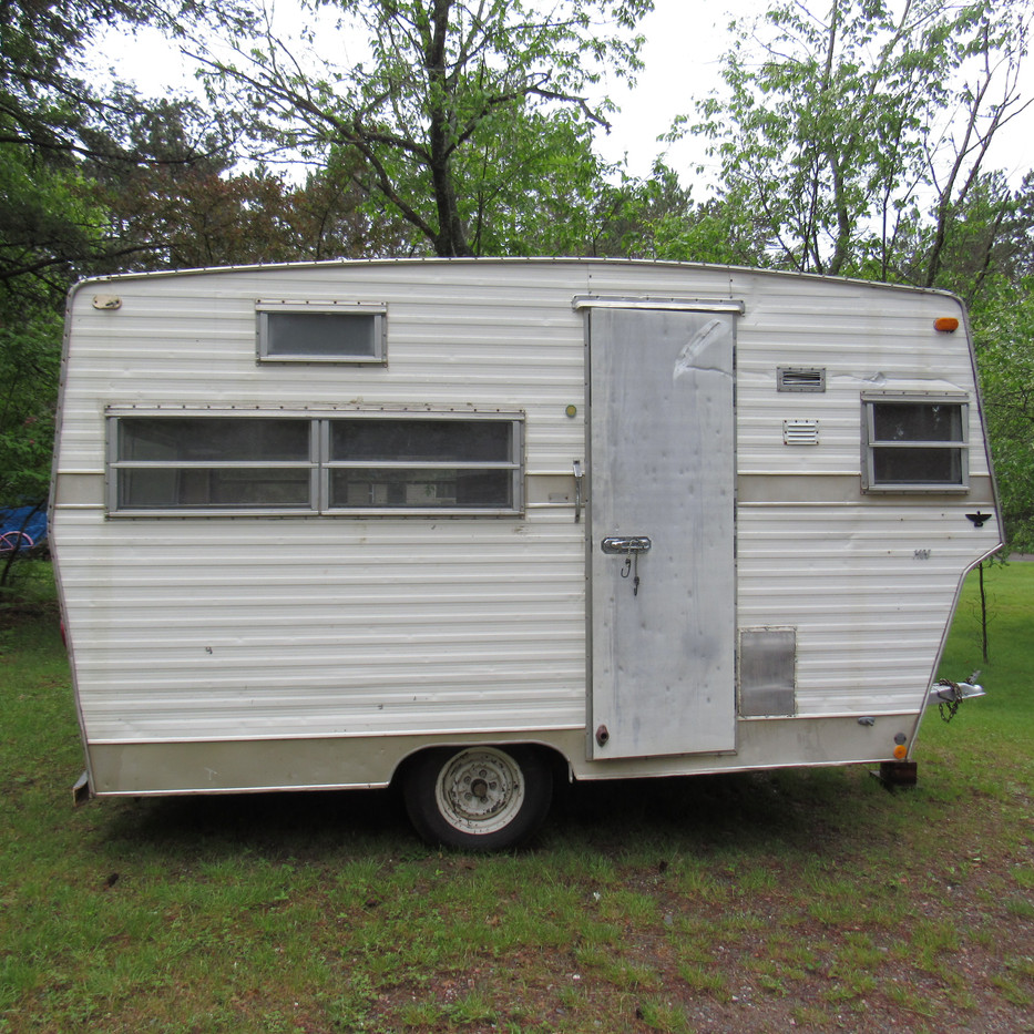 Camper Restoration Before - 1