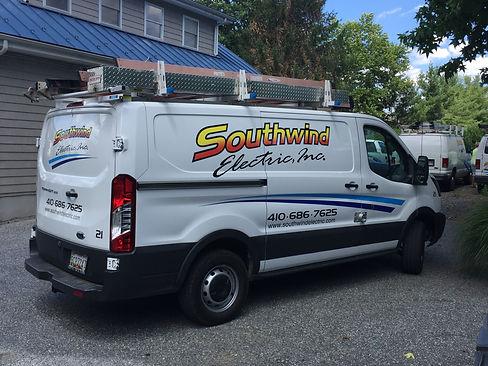 Southwind Electric, Inc. Van