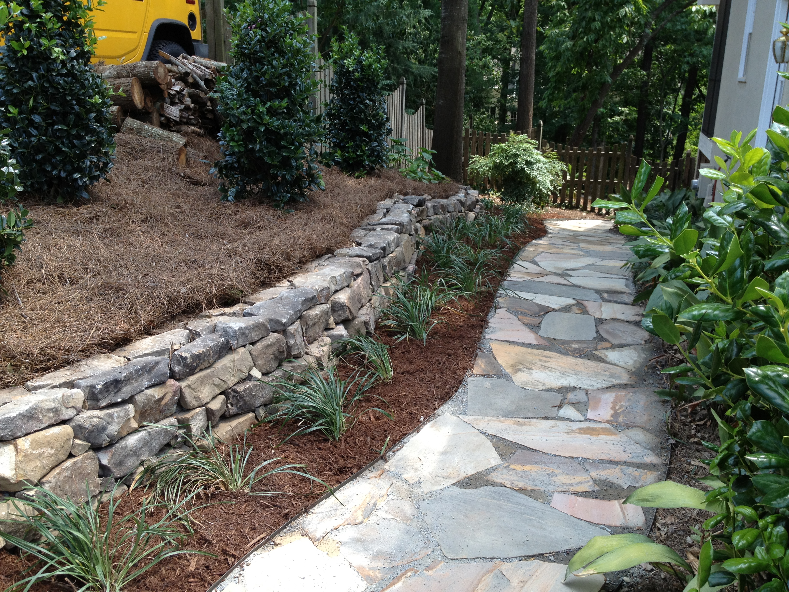 walkway paver installation atlanta