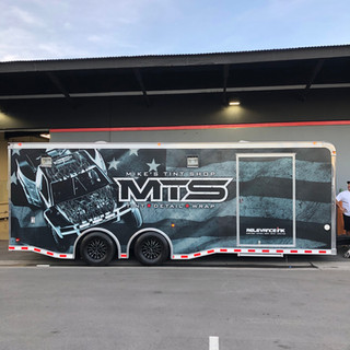 Custom Design Trailer Wrap