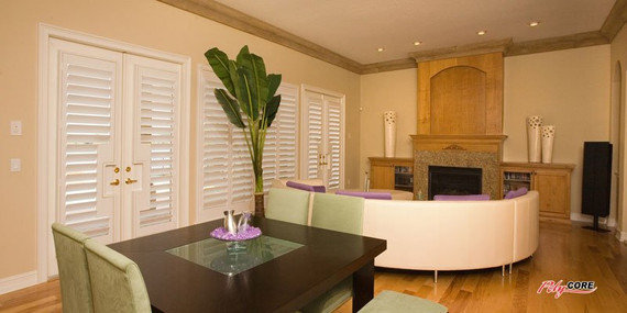 quality window shutters and other window coverings