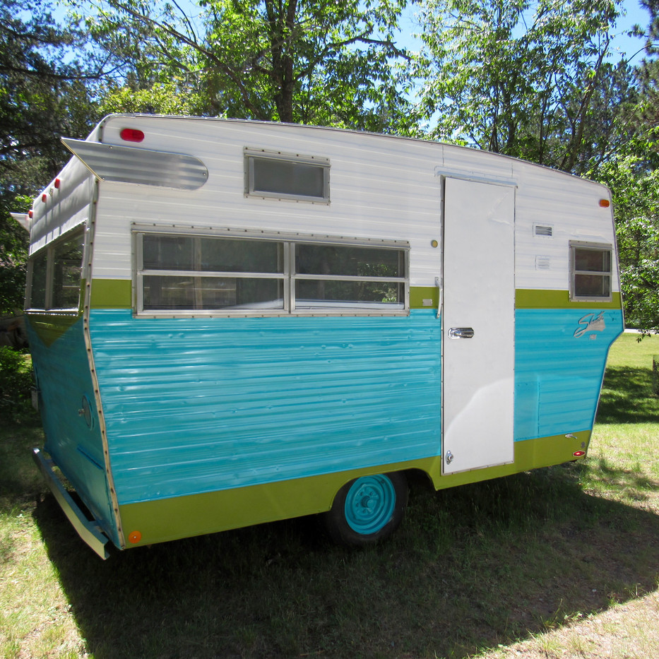 Camper Restoration After - 1