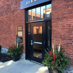make your storefront beautiful with container gardens