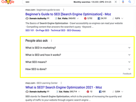 The 411 on Google Featured Snippets