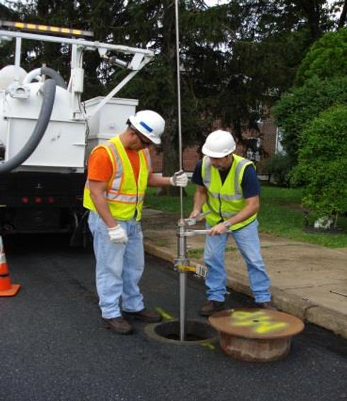 Keyhole technology utility inspection tools