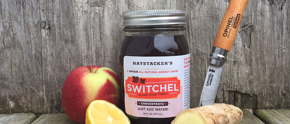 Switchel Mix - Just Add Water (while saving money and the planet)