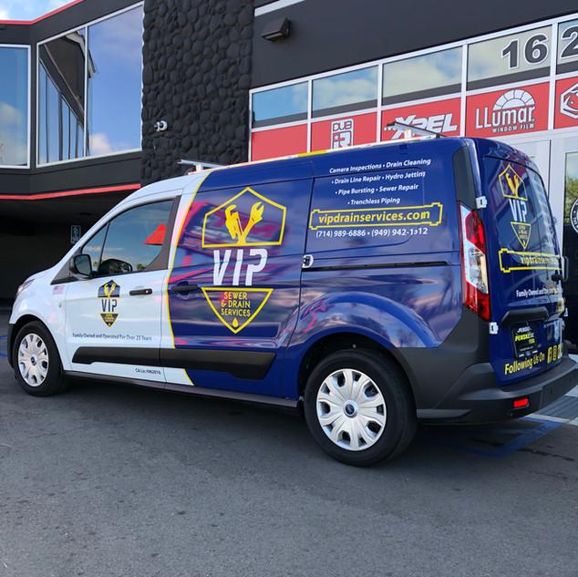 Transit Van Commercial Wrap