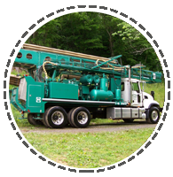 well drilling truck NC