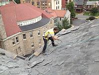 steep slope roofing installation and maintenance hazelton pa