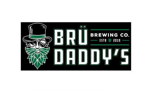 Brü Daddy's Horizontal Sticker