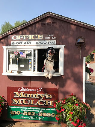 Monty's Mulch supply in douglassville pa