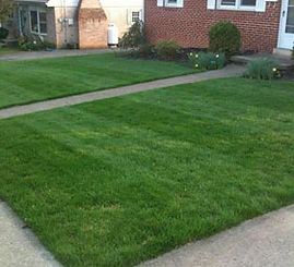 residential mowing services - grass roots lawn care