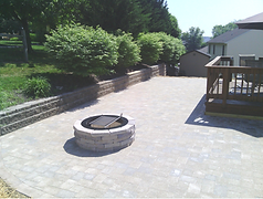 patios and retaining wall installation