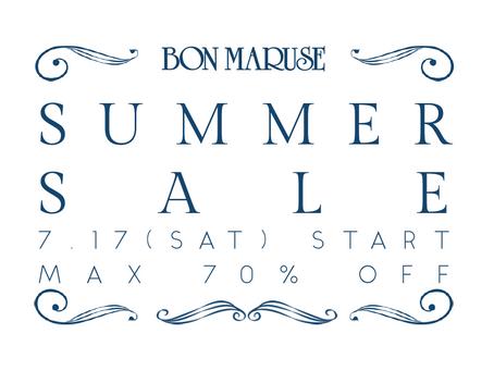 BON MARUSE Summer Sale 2021