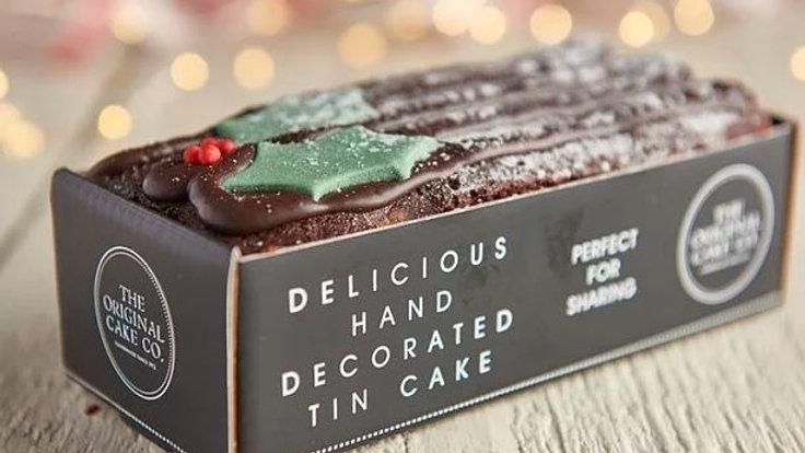 Christmas Chocolate Yule Log (pre order)