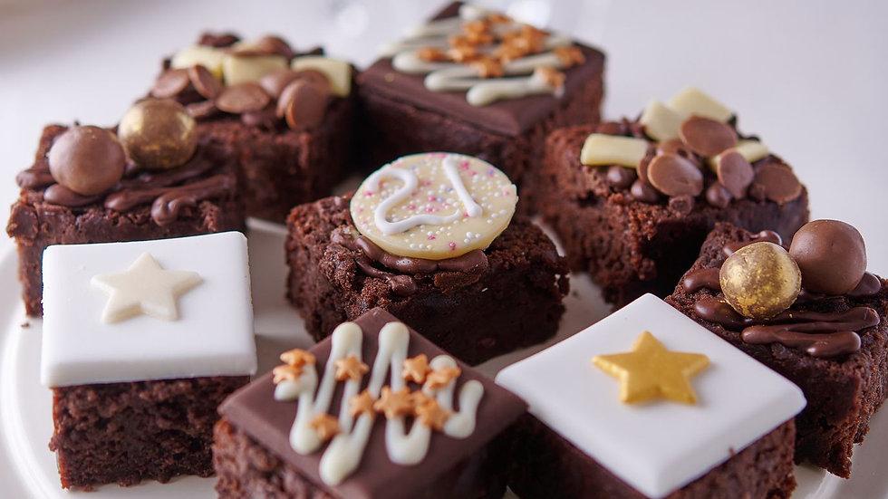 21st Birthday Luxury Chocolate Cake Selection