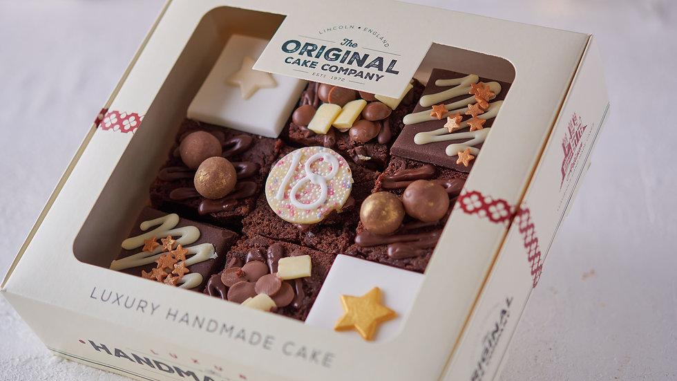 18th Birthday Luxury Chocolate Cake Selection