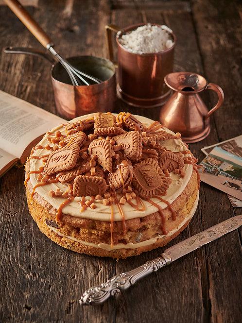 Biscoff and Fudge Cake