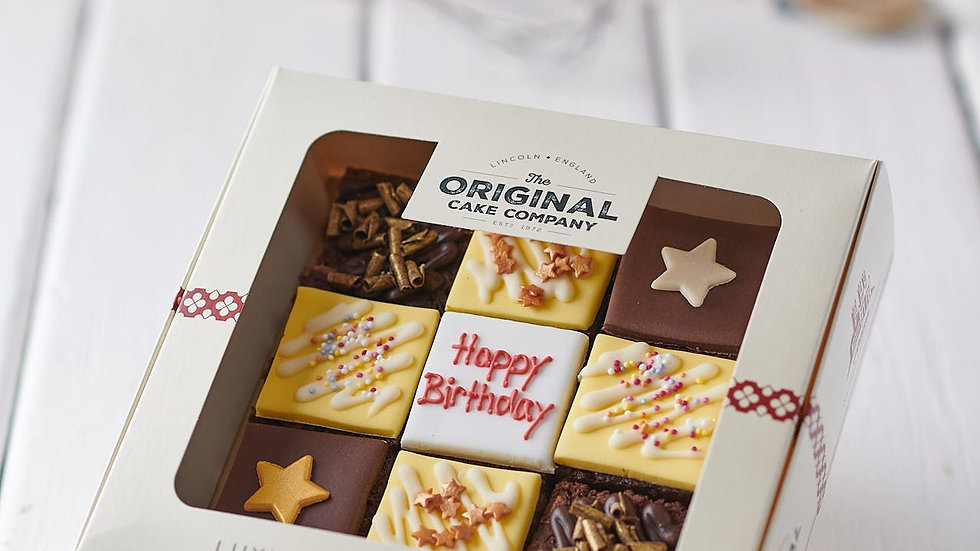 Happy  Birthday Luxury Chocolate Selection