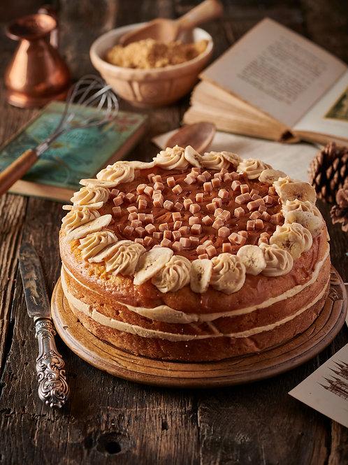 Banoffee and Caramel Cake