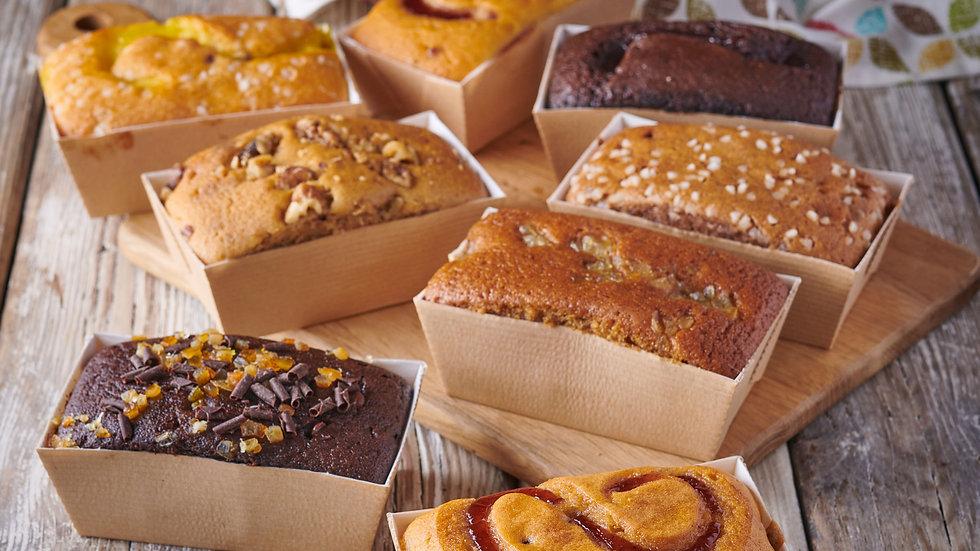 Luxury Chocolate & Vanilla Sponge Cakes