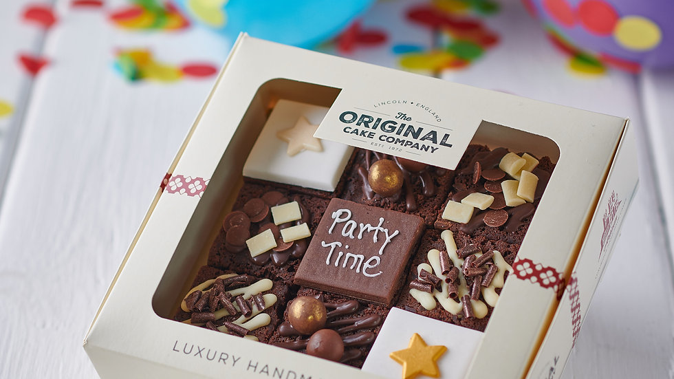 Limited Edition Party Time Cake Selection -Spend £40 or more and Receive Free