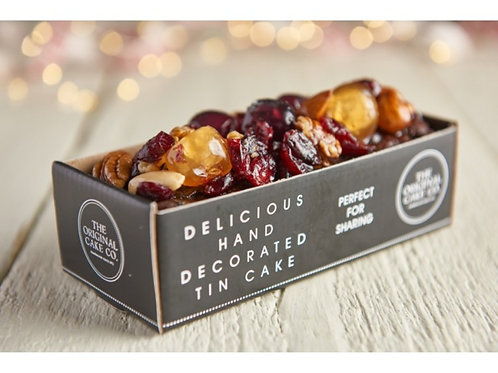 Christmas Jewel Topped Rich Fruit Cake x8
