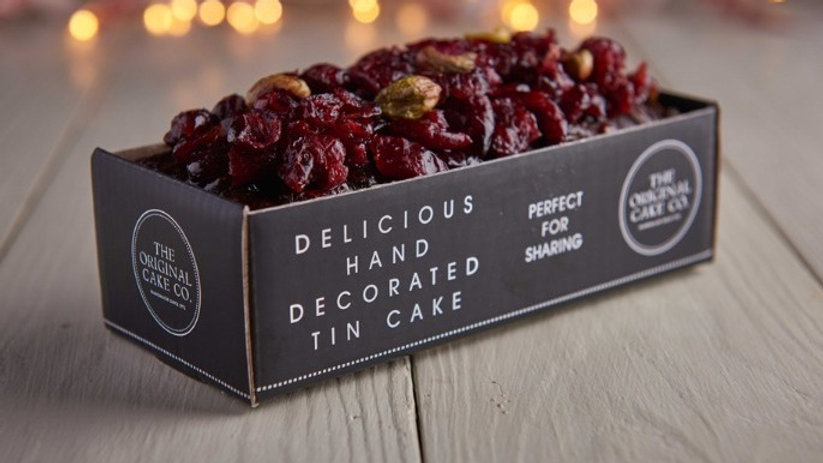 Christmas Cranberry and Pistachio Fruit Cake