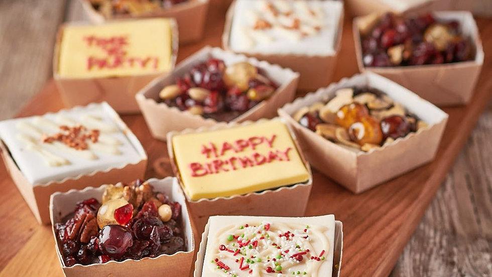 Happy Birthday Fruit Cake Selection