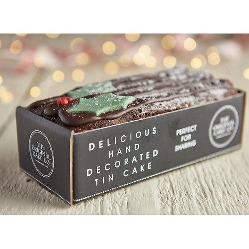 Christmas Chocolate Yule Log x8